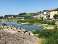 Consorzio di bonifica - Lavori sull'Arno a Pontassieve
