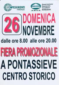 Fiera Promozionale - Confesercenti 26 novembre 2017
