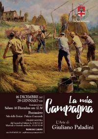Giuliano Paladini, La mia Campagna. Pontassieve, Sala delle Eroine 16 dicembre - 29 gennaio 2017