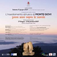 L'insediamento etrusco di Monte Giovi. 3000 anni sopra le nuvole. 17 giugno 2017