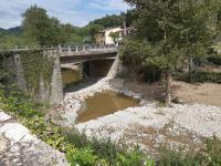 Lavori di manutenzione del Consorzio di Bonifica sul fiume Sieci