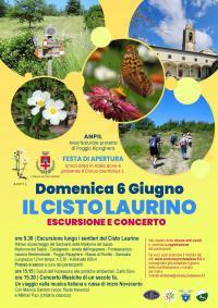 Cisto Laurino in fiore, escursione. 6 giugno 2021