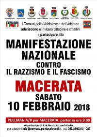 Manifestazione Nazionale contro il razzismo e il fascismo