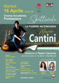 Marco Cantini presenta La febbre incendiaria. Pontassieve, Cinema Accademia 16 aprile 2019