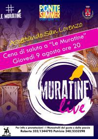 """Cena di fine stagione a """"Le Muratine"""". Pontassieve, 9 agosto 2018"""