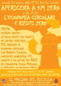 Molino del Riciclo. Venerdì 20 ottobre 2017 al Circolo ARCI La Torretta