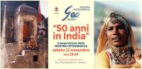 50 anni in India. Mostra fotografica di Geo Bruschi 2017