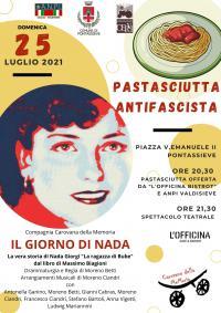 Locandina pastasciutta antifascista