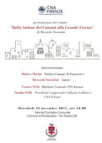 Dalle fusioni dei Comuni alla Grande Firenze di Riccardo Nocentini - 22 novembre 2017