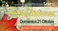 Festa d'autunno.  Giornata di chiusura della stagione escursionistica. Domenica 21 ottobre 2018.