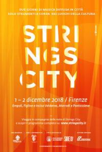 """A Pontassieve """"Strings city"""" farà tappa domenica 2 dicembre 2018 alle ore 16,30 Sala delle Eroine Quartetto Shaborùz"""