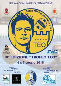 Pontassieve, X edizione Trofeo Teo. Venerdì 6 e sabato 7 luglio 2018