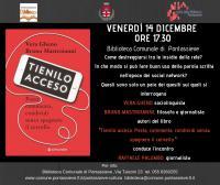 Pontassieve. Tienilo Acceso. Presentazione del libro di Vera Gheno e Bruno Mastroianni. Venerdì 14 dicembre 2018 ore 17,30