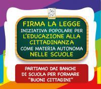 legge iniziativa popolare – educazione civica a scuola