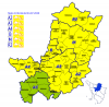 24 luglio 2020 Codice giallo per rischio idrogeologico/idraulico reticolo minore e temporali forti